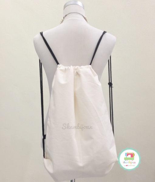 Drawstring Bag Canvas (1)
