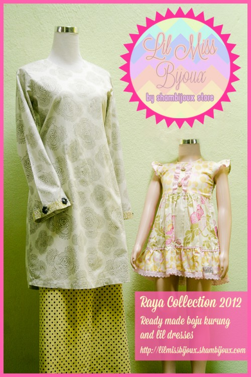 collection now available! Ready made baju kurung in limited pieces