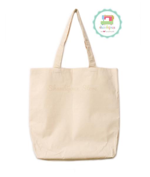 Plain-Tote-Bag-Canvas-Fabric-15×17