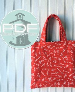 (Affiliate) Schoolhouse Patterns - The Mini Tote pattern