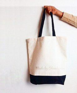 Plain Tote Bag Black Base