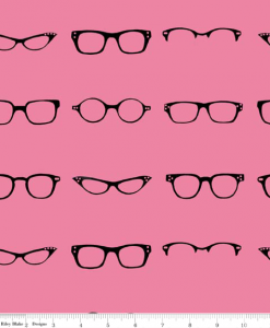 (Amy Adams) Geekly Chic, Geekly Glasses in Hot Pink C512-01 HOT PINK