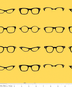 (Amy Adams) Geekly Chic, Geekly Glasses in Yellow C512-02 YELLOW