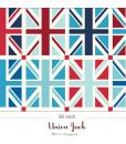 (Riley Blake Designs) Union Jack, Union Jack Squares In Blue – measurement