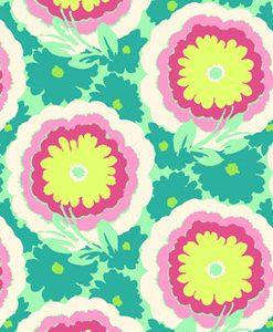 (Amy Butler) Soul Blossoms, Buttercups In Spearmint