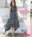 LAH-16803 – Blossom Swale Depth – dress