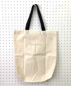 "Plain Tote Bag with Black Strap 15"" x 17"" (old stock)"