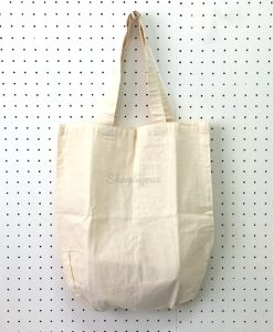"Plain Tote Bag with Fabric Strap 15"" x 17"" (old stock)"